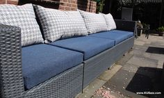 Outdoor Sectional, Sectional Sofa, Outdoor Furniture, Outdoor Decor, Doors, Home Decor, Modular Couch, Puertas, Corner Couch