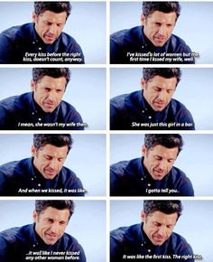 I miss you, Derek Shepherd. Wish they hadn't killed you off the show. Grey Quotes, Tv Quotes, Movie Quotes, Greys Anatomy Frases, Grey Anatomy Quotes, Grays Anatomy, Greys Anatomy Derek Dies, Meredith Grey, Grey's Anatomy Merchandise