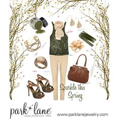 Sparkle this Spring, created by parklanejewelry on Polyvore
