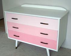 mueble comoda pintada