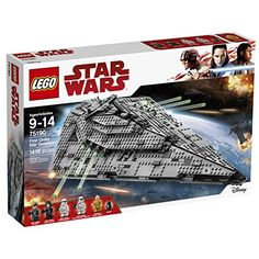 LEGO Star Wars First Order Star Destroyer 75190 Building ...