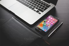 Realistic iPhone 6 Mockup by Golden Graphic on Creative Market