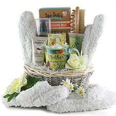 Mothers Day Baskets - Unique Mother's Day Gift Basket Ideas for Mom Mothers Day Spa, Mothers Day Baskets, Mother's Day Gift Baskets, Decadent Chocolate, Delicious Chocolate, Spa Basket, Spa Day, Customized Gifts, Unique Gifts