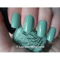 cute teal nail polish