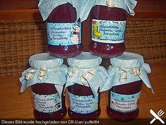 Weihnachtliche Glühkirsch Marmelade