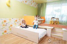 58 Podium bed for bedroom decoration - Home Design Ideas Modern Kids Bedroom, Cute Bedroom Ideas, Large Bedroom, Girls Bedroom, Bedroom Decor, Murphy-bett Ikea, Roll Away Beds, Hidden Bed, Space Saving Furniture