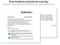 Reply to an evening email reminder with what you did that day. The next day, get a digest with what everyone has done. It's that easy. (looks so cool!) $3/mo https://idonethis.com
