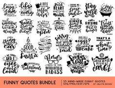 Inspirational Quote SVG Cut File Bundle Deal Cut File for Silhouette Cameo, Silhouette Projects, Free Silhouette, Silhouette Files, Silhouette Studio, Free Svg, Blog Banner, Boat Names, Circuit Projects