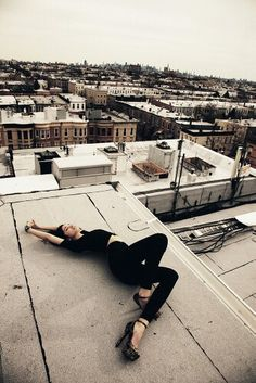 Dancing on top of the roof, Tumblr