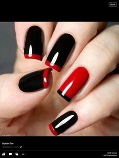 Dramatic Black/Red