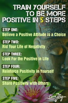 Train Yourself to Be More Positive in 5 Steps ==>