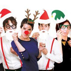 La Fiesta de Olivia   Kit Photobooth Navidad / 20 Piezas   Decoración de fiestas infantiles, bodas y eventos