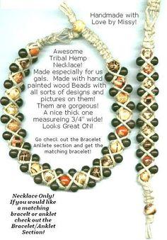 hemp jewelry - Google Search