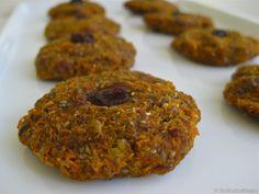 Raw vegan apple cookies recipe