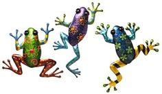 Gift Craft 255Inch Iron Frog Design Wall Plaques Medium -- Click image for more details.