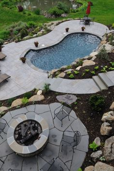 Landscaping Design Ideas Around A Pool Lake Home Ideas