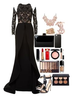 """Untitled #131"" by chloe-ashforth on Polyvore featuring Mikael D, Gianvito Rossi, Chanel, Estée Lauder, MAC Cosmetics, Marc Jacobs, Too Faced Cosmetics, SPINELLI KILCOLLIN and Yves Saint Laurent"