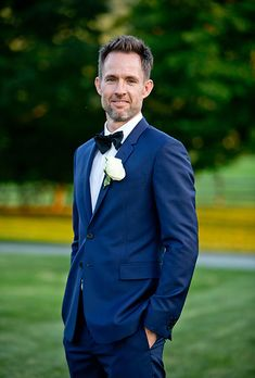 Brides.com: 50 Must-Have Wedding Photos The Groom's BoutonniereA photo of the boutonniere is a necessity, so you can remember what it looked like before the party started and the groom's jacket came off — and the little boutonniere was nowhere to be found. Photo: Birds of a Feather Photography