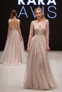 "Wedding dress Rara Avis ""Tovel"""