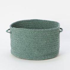 Braided Wool Basket in Sale House + Home at Terrain