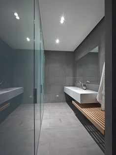 Top 70 Best Cool Bathrooms - Home Spa Design Ideas Spa Design, House Design, Pool Bathroom, Modern Bathroom, Bad Inspiration, Bathroom Inspiration, Home Spa, Amazing Bathrooms, Bathroom Interior
