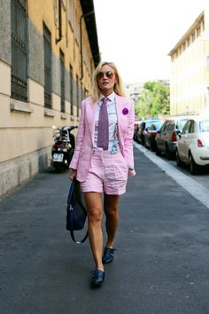 Milan Mens Fashion Week SS14 Street Style, Sarah Ann Murray (from all the pretty birds blog)