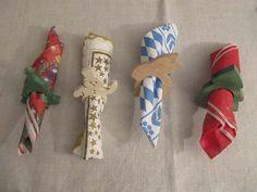 lustige Serviettenringe für: Winter, Advent, Kindergeburtstag,...