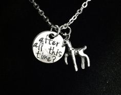 """Harry Potter  Inspired """"After All This Time...Always, Said Snape"""" Necklace"""