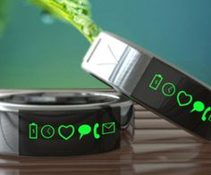 A high-tech ring that promises to replicate many of the features found in the latest crop of smartwatches.