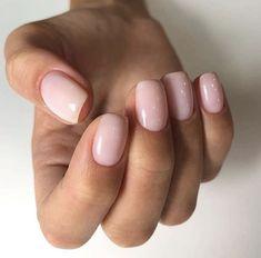 Nagellack-Kunst (notitle) - Maniküre-Ideen - # Manicure The Truth About Hair Loss Sc Neutral Nails, Nude Nails, Acrylic Nails, Stylish Nails, Trendy Nails, Hair And Nails, My Nails, Short Pink Nails, Natural Nail Designs