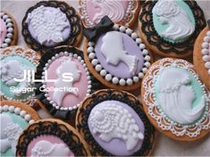 Cameo Cookies // Jill's Sugar Collection
