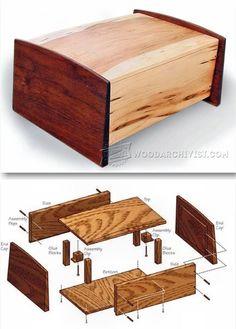 Pet Urn Plans - Woodworking Plans and Projects | WoodArchivist.com