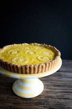 Chez Us | Meyer Lemon Cream Tart | http://chezus.com