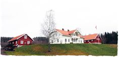 Norwegian farm sveitserhus