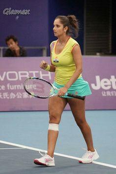 msf tennis world, sport tennis, sports stars, female athletes, sport Beautiful Bollywood Actress, Beautiful Indian Actress, Petkovic, Tennis World, Tennis Players Female, Girls Golf, Sport Tennis, Tennis Stars, Bollywood Girls