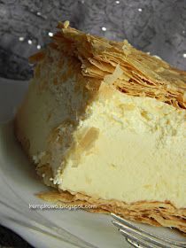 Polish Desserts, Polish Recipes, Baking Recipes, Cookie Recipes, Torte Cake, Puff Pastry Recipes, Sweets Cake, Christmas Cooking, Food Cakes
