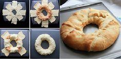 Buffalo Chicken Crescent Ring Recipe - http://www.hgtvdecor.com/diy-ideas/buffalo-chicken-crescent-ring-recipe.html