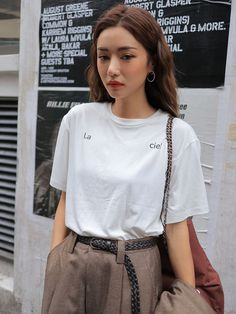 Best casual korean fashion 191 Source by fashion idea Korean Fashion Pastel, Korean Fashion Trends, Korean Street Fashion, Korea Fashion, Asian Fashion, Slacks Outfit, Hijab Outfit, Ulzzang Fashion, Ulzzang Girl