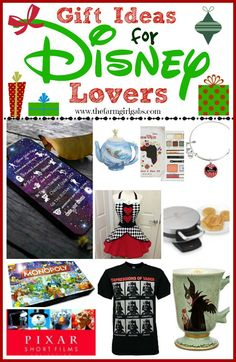 Disney lovers rejoice! Here is a great holiday gift guide for the Disney fanatic in your life!
