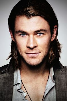 Chris Hemsworth, I love a guy with longer hair.