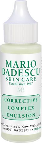 I'd like to try this.... got good reviews from users! Corrective Complex Emulsion from Mario Badescu Skin Care via mariobadescu.com