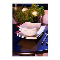 MYNDIG Bowl, white - IKEA