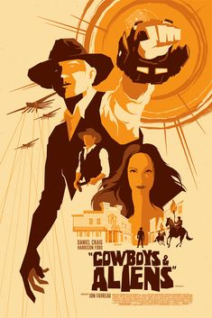 Cowboys vs Aliens Alternative