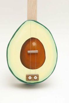 Avocado Guitar.!