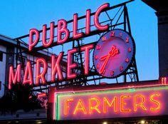 Pike Place Market, Seattle, WA