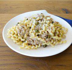 Pasta al limone, thon et câpres Risotto, Macaroni And Cheese, Pasta, Ethnic Recipes, Food, Velveeta Macaroni And Cheese, Recipes, Kitchens, Mac And Cheese