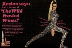 Vintage 60s Cosmetic Advert: Revlon 1966