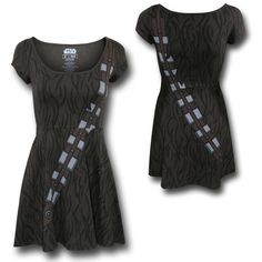 Star Wars Chewbacca Dress- words cannot explain how much I NEED this dress!