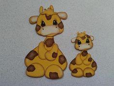 Scrapbook Paper Piecing Giraffe Mom Baby Kids by My Tear Bears Kira   eBay