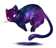 This is a gallery quality giclee art print on archive Dies ist ein Giclée-Kunstdruck in Galeriequalität auf Archivpapier aus …. This is a gallery quality giclee art print on archival paper … - Aesthetic Galaxy, Galaxy Cat, Image Chat, Space Cat, Warrior Cats, Kawaii Drawings, Cat Tattoo, Cat Art, Animal Drawings